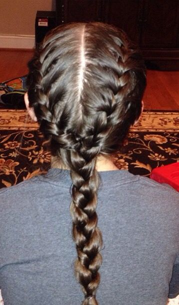 How To Accomplish This Easy Hairstyle In Just Three Easy Steps Step 1 French Braid One Side Your Head Ste Easy Hairstyles Braids Step By Step Easy Braids