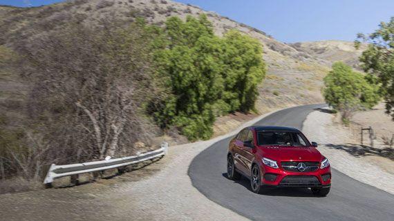 Кроссовер-купе Mercedes-Benz C450 AMG 4Matic 2016 / Мерседес-Бенц С450 AMG 4Матик – вид спереди