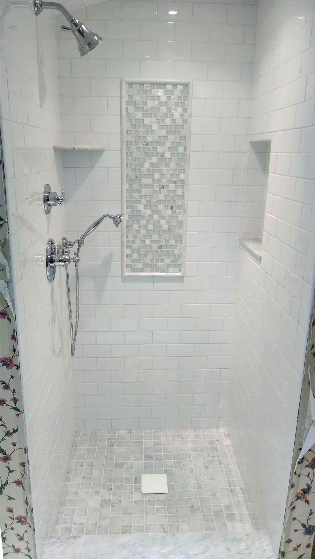 Tiles Subway Tile Bathroom Ideas Pinterest Subway Tile Bathroom Shower In White Subway Tile In Small Bath Subway Tile Bathroom Shower Tile Bathroom Shower Tile