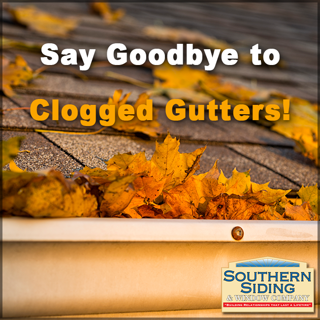 Leaves Are Going To Be Falling Soon You Know What That Means Clogged Up Gutters Well We Have Good News You Can Kiss Cleaning Gutters Clogged Gutter Gutters