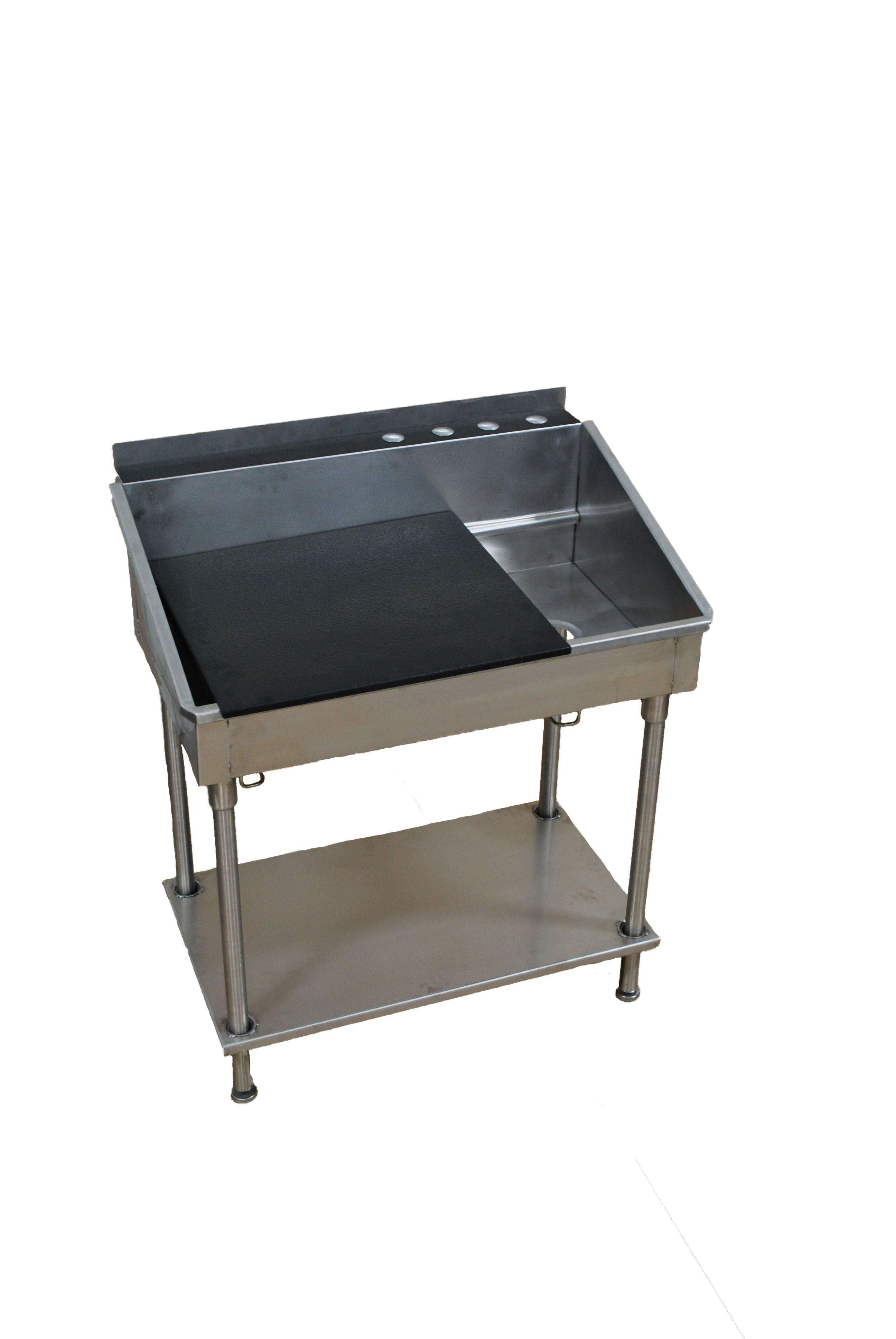 Quality Sinks Made In The Usa Utility Sink Industrial Kitchen Design Adjustable Shelving