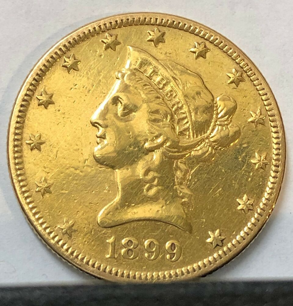 Buffed Gold Bullion Value 1899 S Liberty 10 Eagle Coin A Cheap Usa Old Classic Afflink Contains Affiliate Links Wh Eagle Coin Gold Eagle Coins Gold Bullion