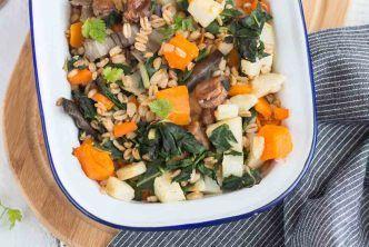 Poêlée de petit épeautre aux légumes d'hiver | Recette | Legumes hiver, Recette gaufre facile ...