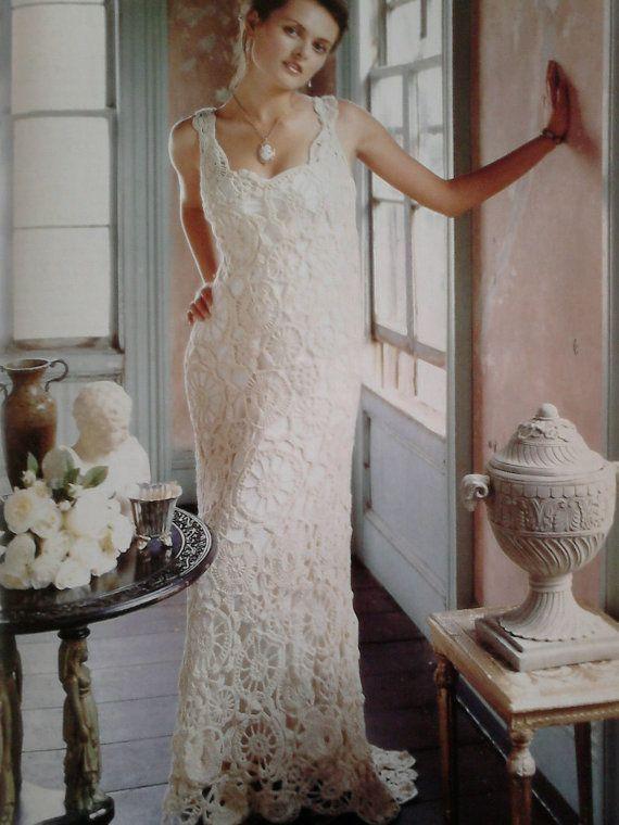 Vintage crochet wedding dress pattern pdf no 0002 crochet wedding vintage crochet wedding dress pattern pdf no 0002 299 usd junglespirit Gallery