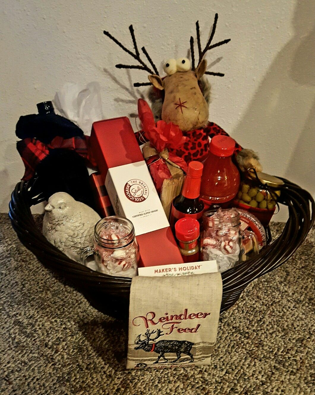 Bloody Mary Christmas gift basket