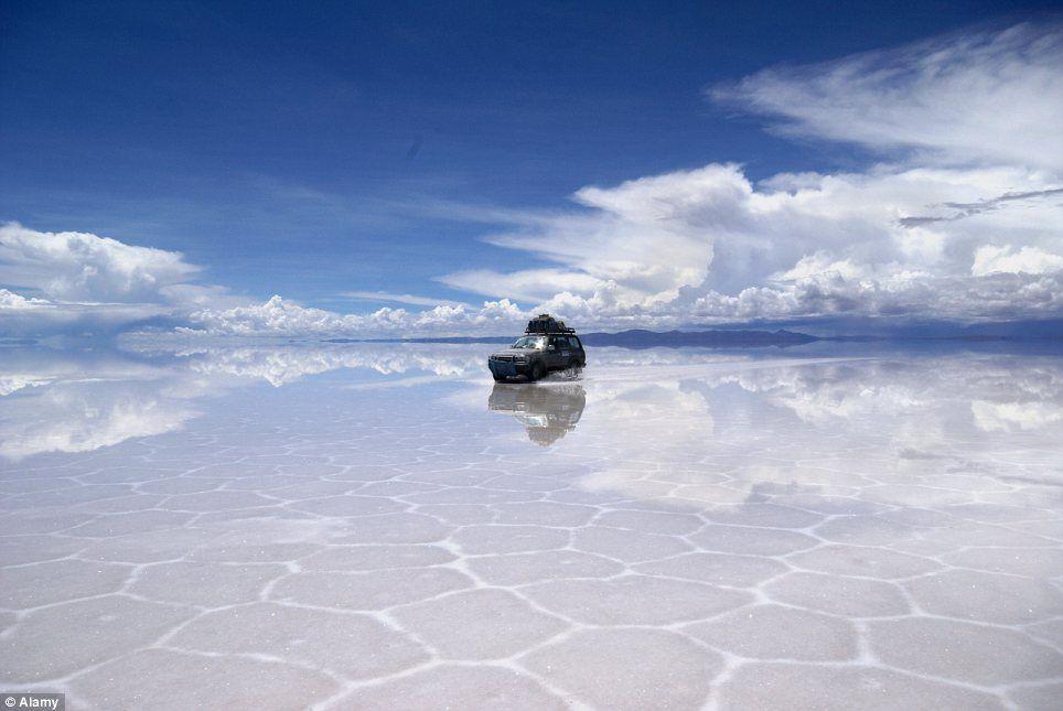 Bolivias salt flats