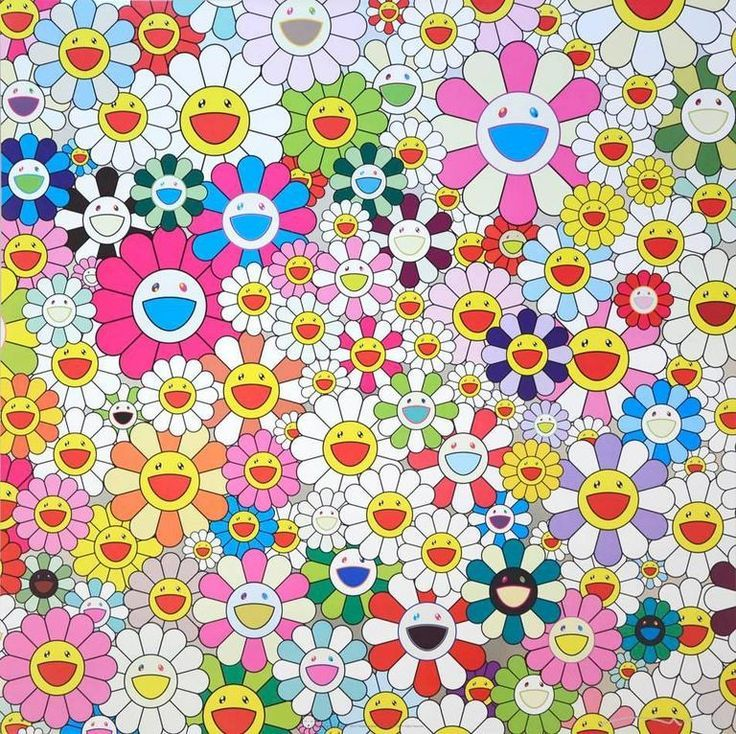Takashi Murakami Flower Smile お花の笑顔 2011 (With images