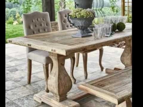 Resultado de imagen para muebles de madera rusticos mesa pinterest farm house and house - Muebles de madera rusticos ...