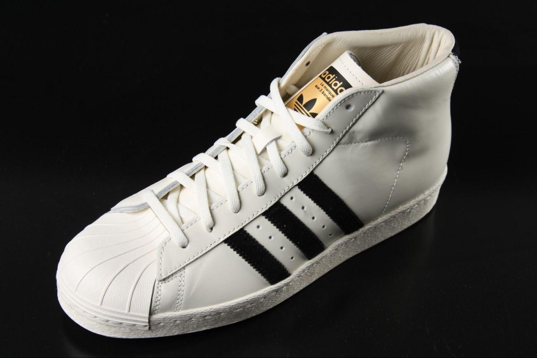 Adidas Adidas Pro Model Vintage Deluxe Sneaker White Black