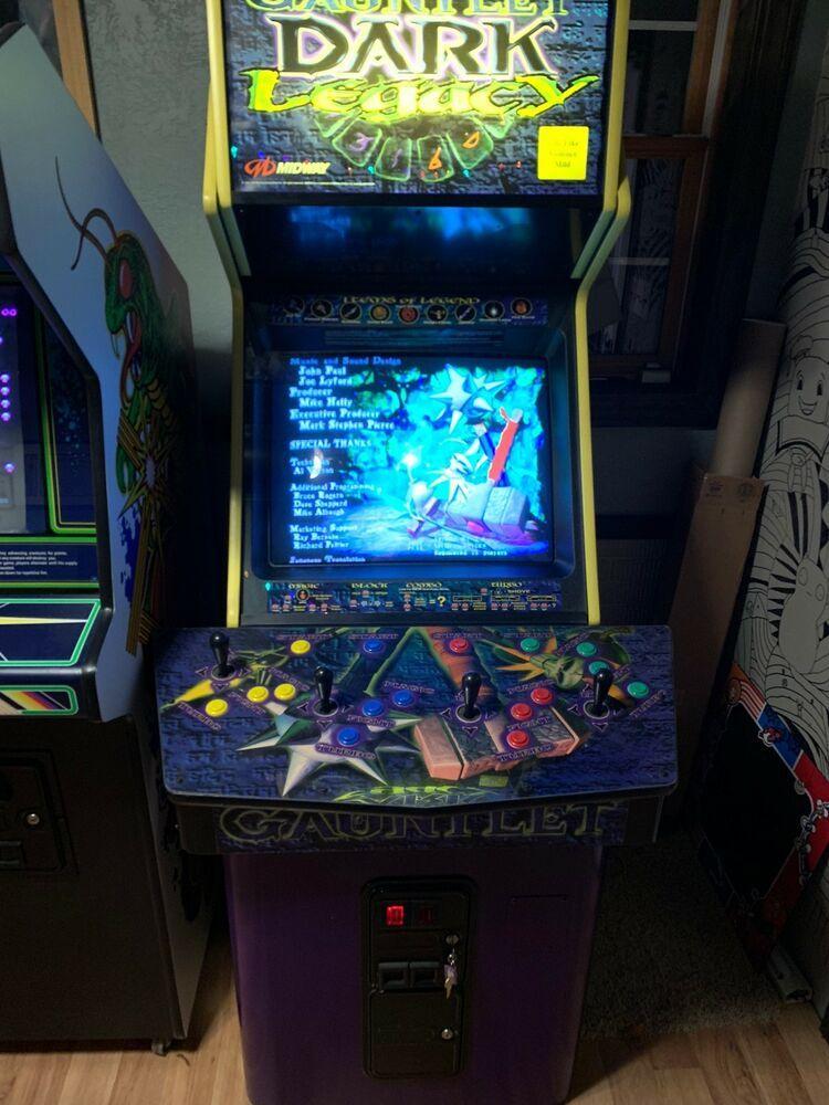 eBay Sponsored 2000 Gauntlet Dark Legacy Full Size Arcade