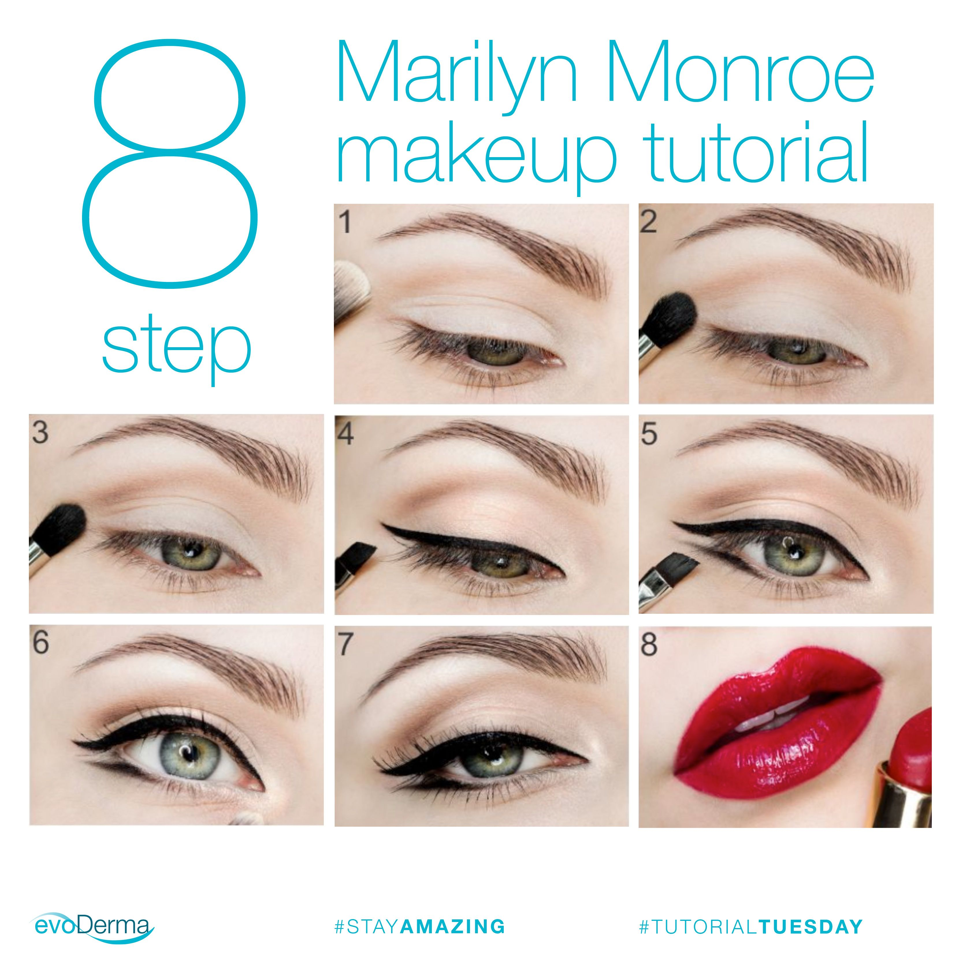 tutorialtuesday Our favorite makeup look is from the one and only
