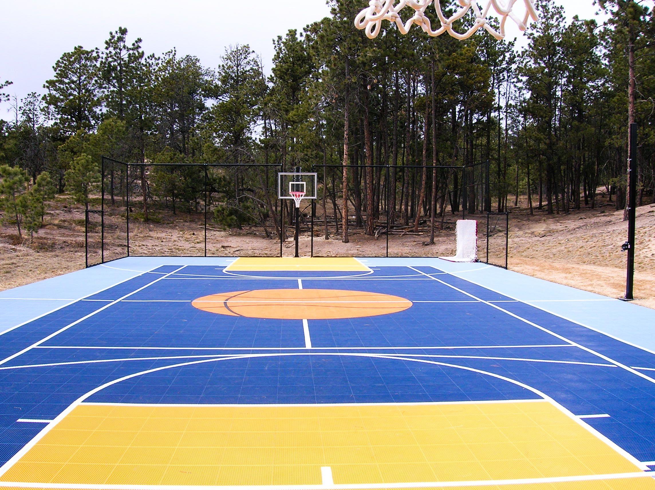 Multi Use Sport Court Construction Sport Court Sports California Basketball