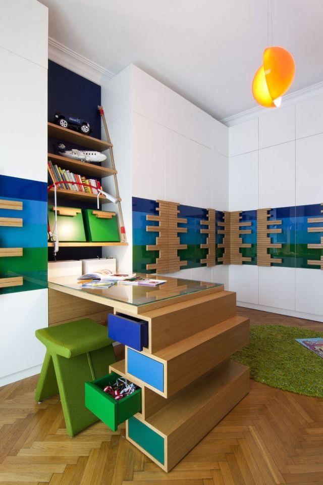 Holz im Kinderzimmer vielseitig anwenden Ideen für