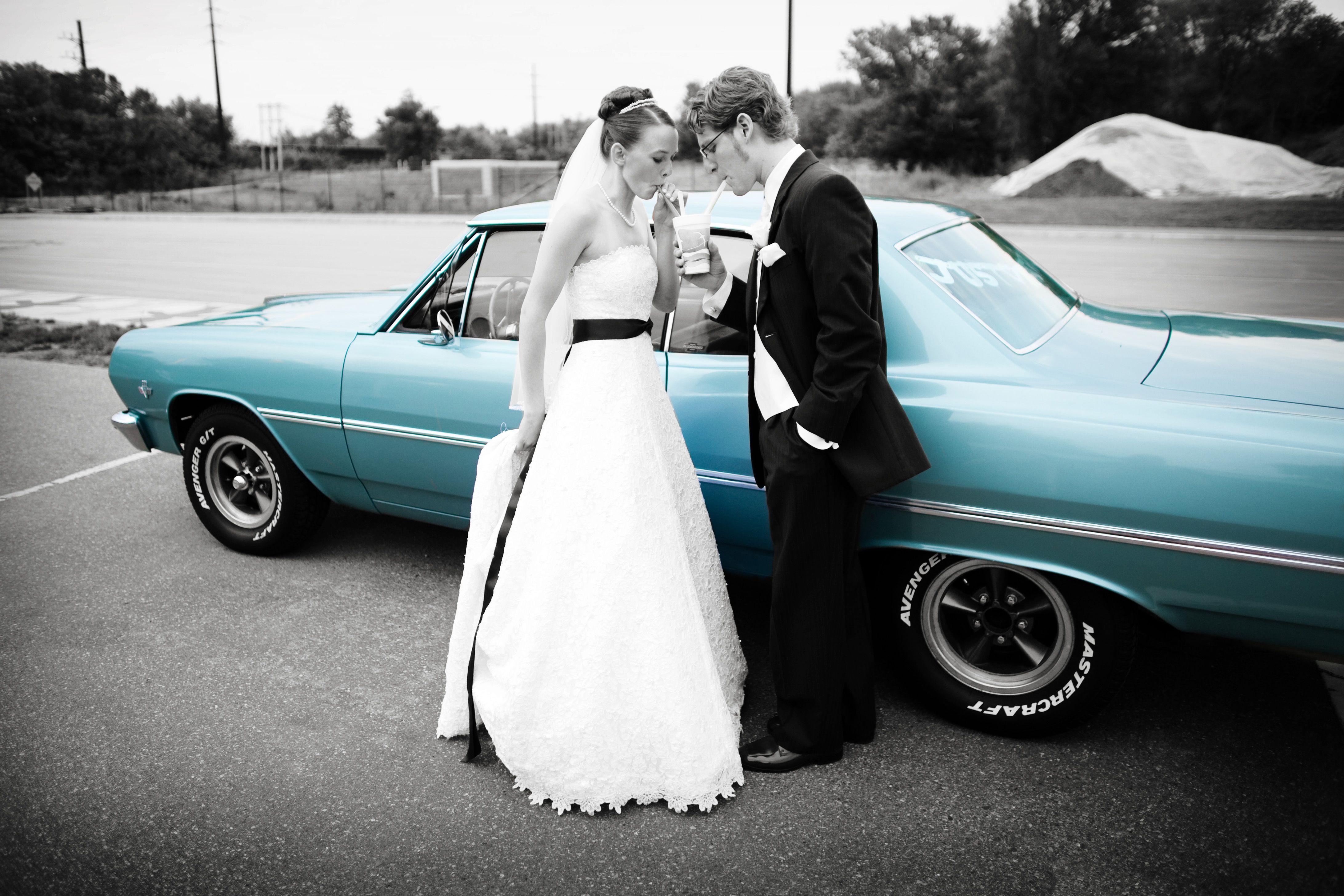 Omg!!! Just like nicks impala!!! Wedding transportation
