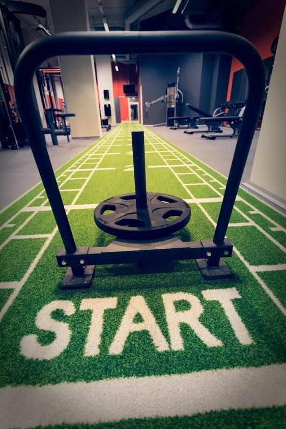 Pavigym Turf Custom Sprint Tap The Pin If You Love Super Heroes Too Cause Guess What You Will Love These Super Hero Gym Interior Gym Design Gym Facilities