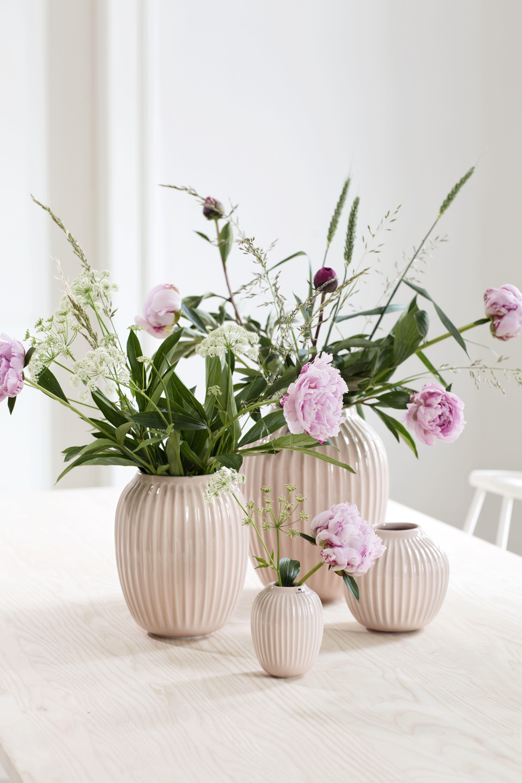 Kähler Design Hammershøi Vase Miniatur, indigo (3erSet