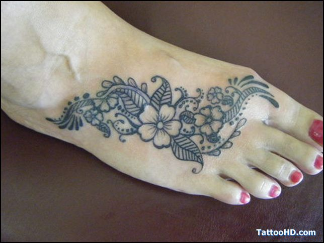 Tattoos Henna Foot Tattoo Design Foot Henna Tattoo Design Henna