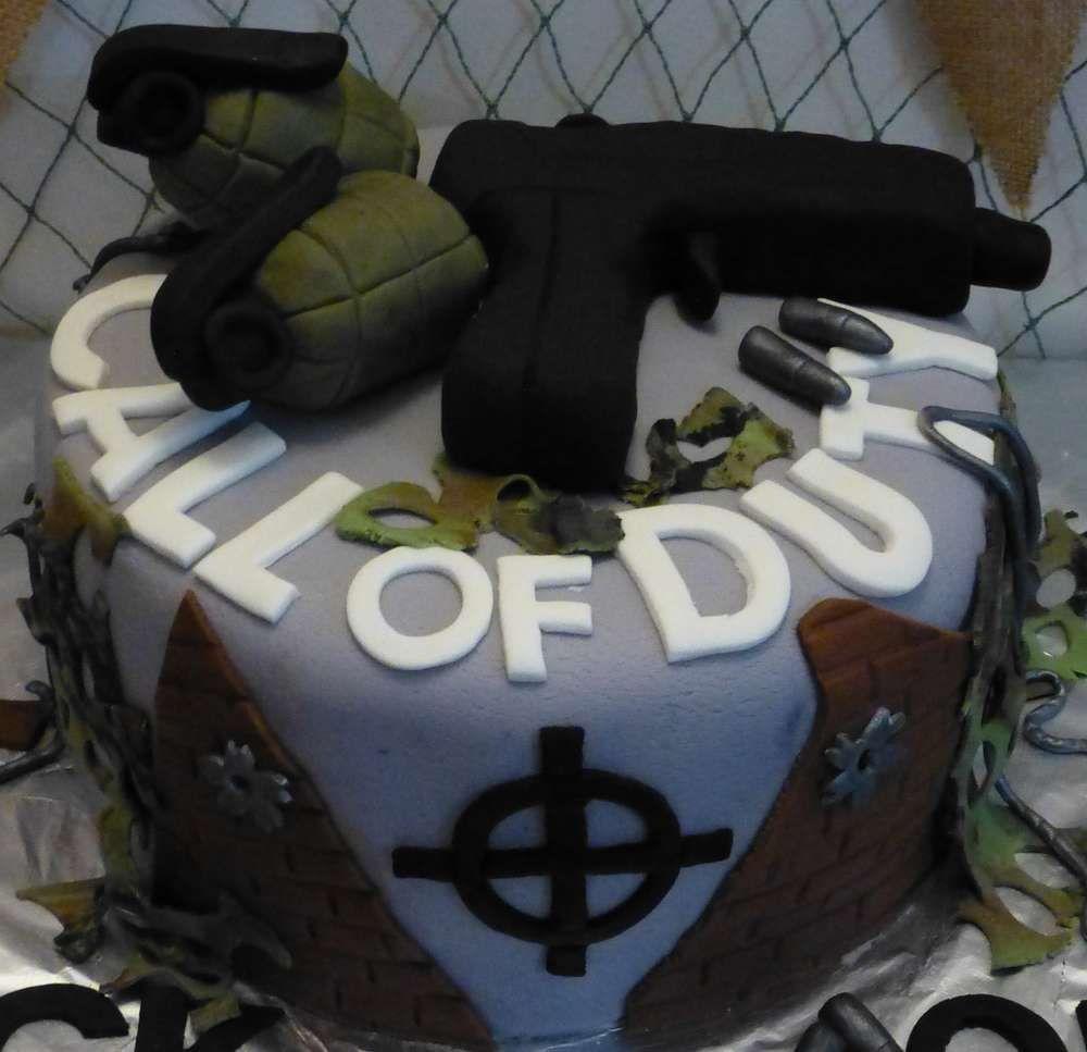 Call Of Duty Black Ops Birthday Party Ideas Photo 1 Of 17 Boy Birthday Parties Boy Birthday Party Boy Birthday Cake