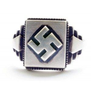 NSDAP sterling silver ring