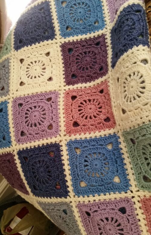 fc1af4a6a1a3 Bohemian Blanket This crochet pattern   tutorial is available for free...  Full Post  Bohemian Blanket
