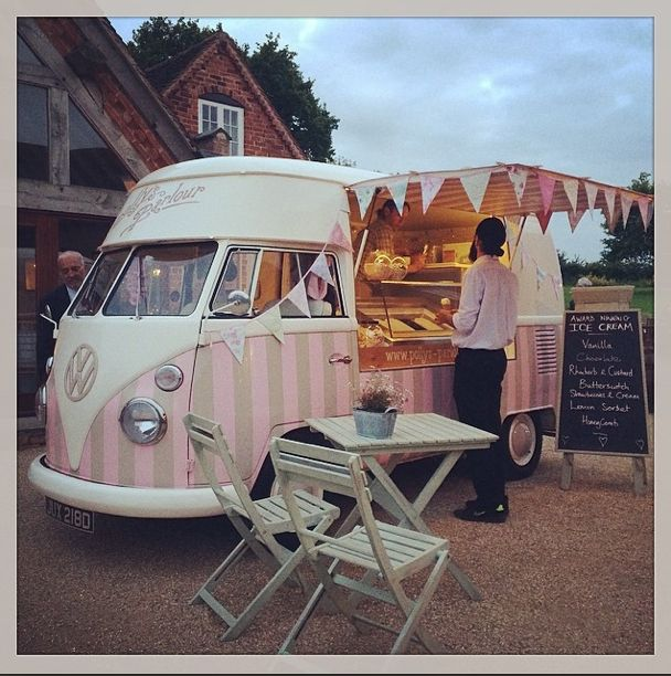 Florence Is Available For Wedding Hire Event Or Festival Traditional Ice Cream From An Award Winning VW Vintage Van