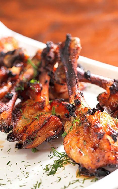 Low FODMAP and Gluten Free Recipes -  Tandoori chicken lollipop   ---   http://www.ibssano.com/low_fodmap_recipe_tandoori_chicken_lollipop.html