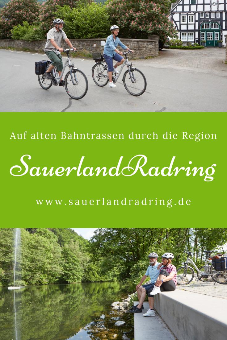 Entdecke den SauerlandRadring Radeln auf alten Bahntrassen
