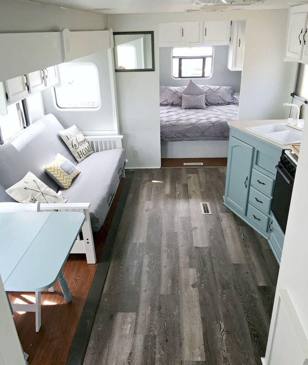 Camper Makeover Remodel Rv Travel Trailers Hacks Ideas 52