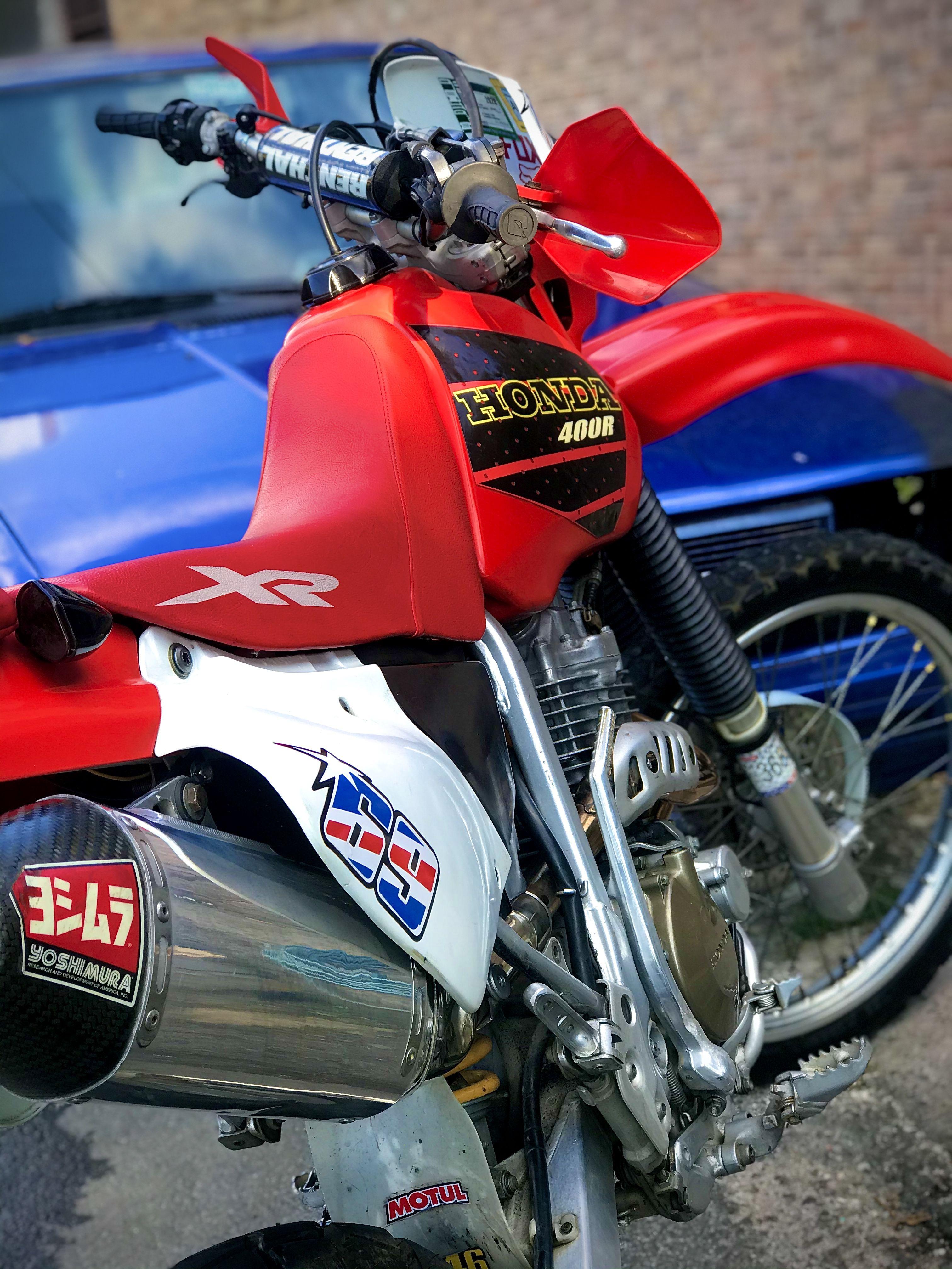 Honda Xr 400 In 2020 Honda Moped Vehicles