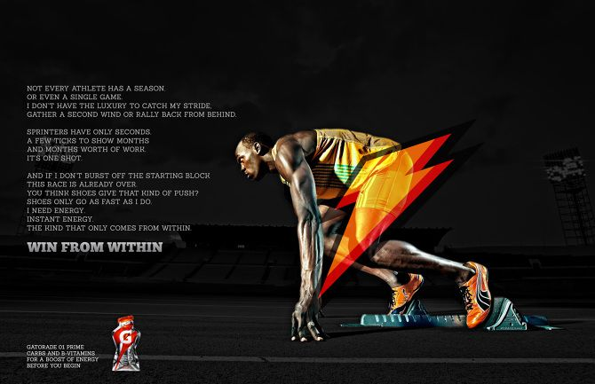 Gatorade Win From Within Gatorade Ads Sports Drink