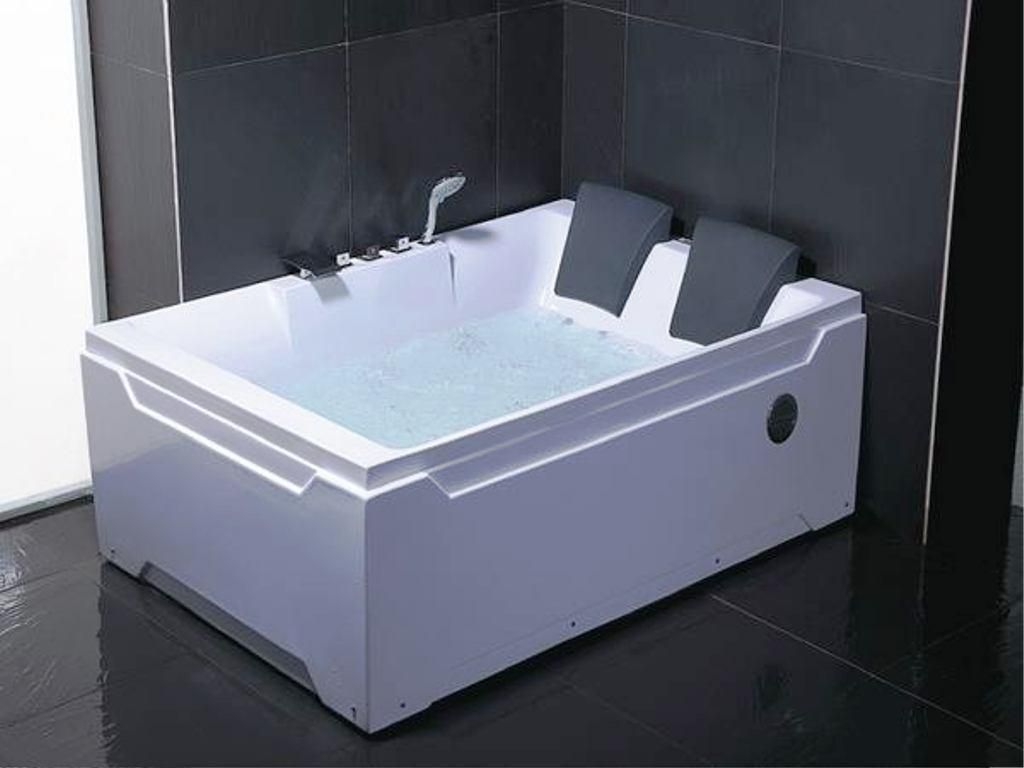 2 Person Bathtub With Jets Vthd Kitchen And Bathroom Enjoy Your Bath With 2 2 Person Bathtub With Jets Vt In 2020 Jacuzzi Bathtub Bathtub Dimensions Bathtub