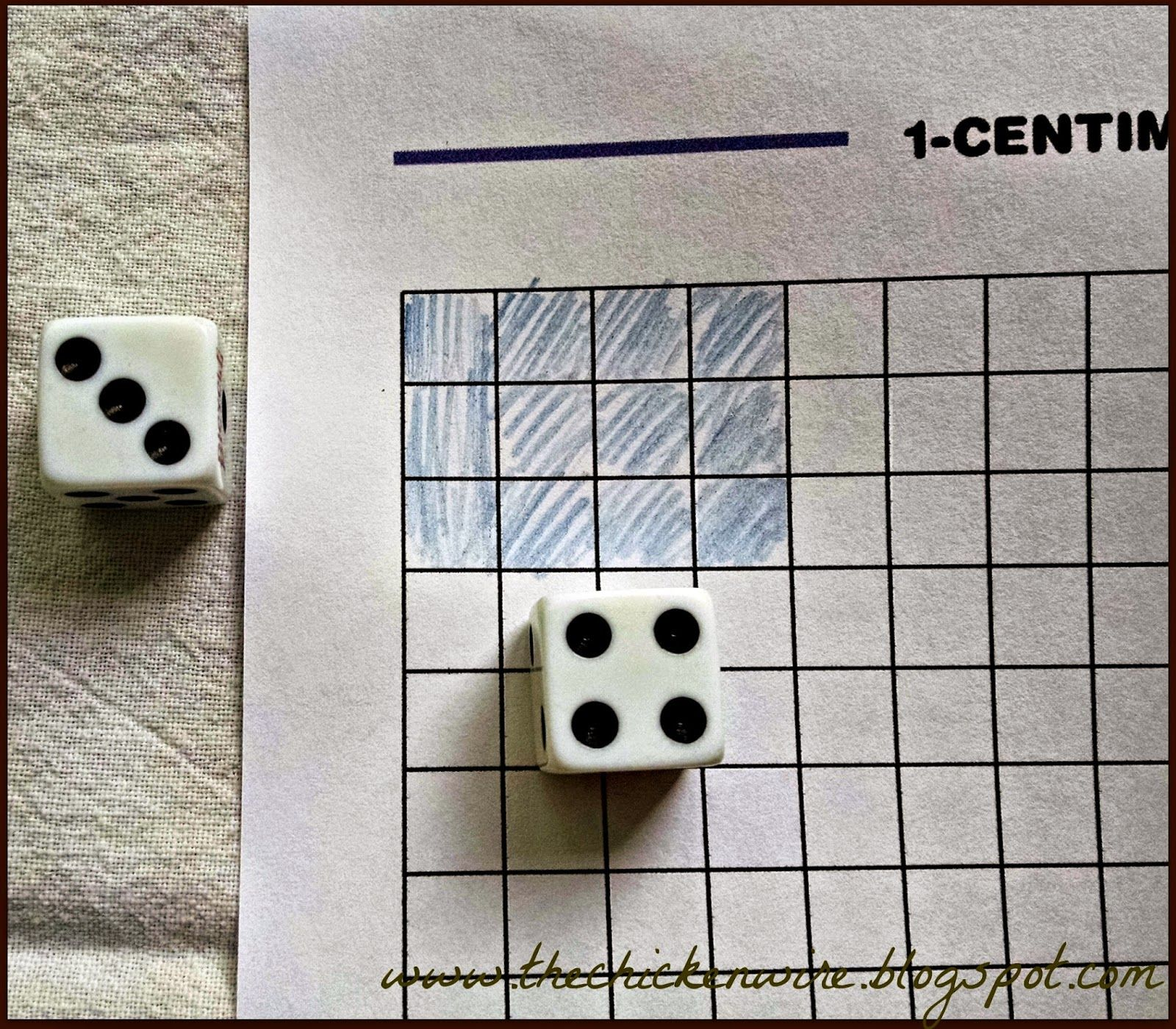 The Chicken Wire: Math Game: X Game A fun, simple way to introduce ...