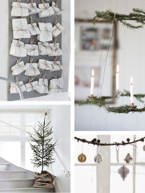 top white christmas decorations ideas christmas tree christmas decor and white christmas decorations - How To Make Scandinavian Christmas Tree Decorations