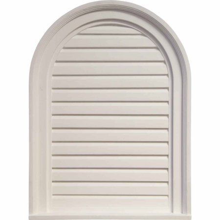 18 W X 24 H X 1 1 8 P Cathedral Gable Vent Louver Non Functional Walmart Com In 2020 Gable Vents Ekena Millwork Millwork