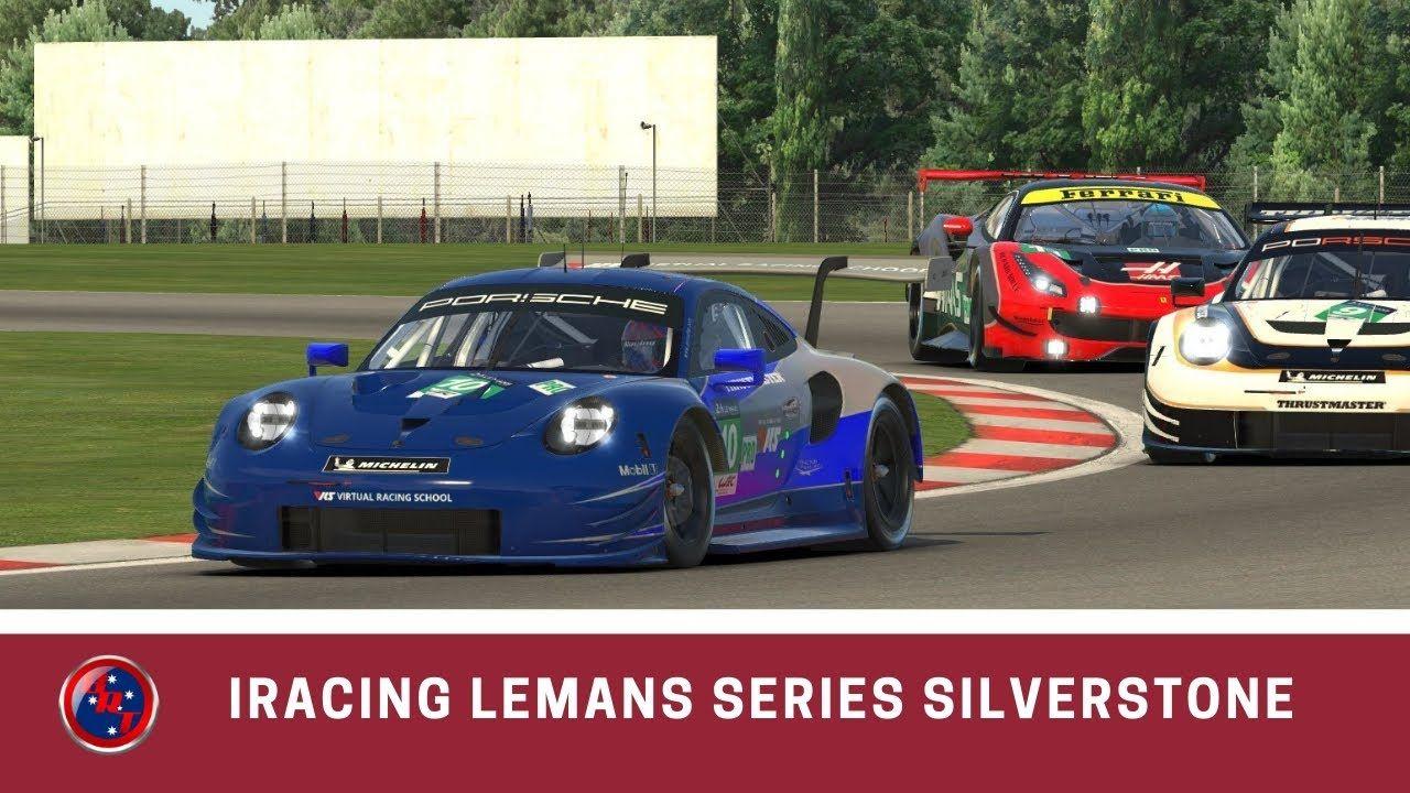 iRacing LeMans Series Silverstone S1W12-2019 Porsche RSR