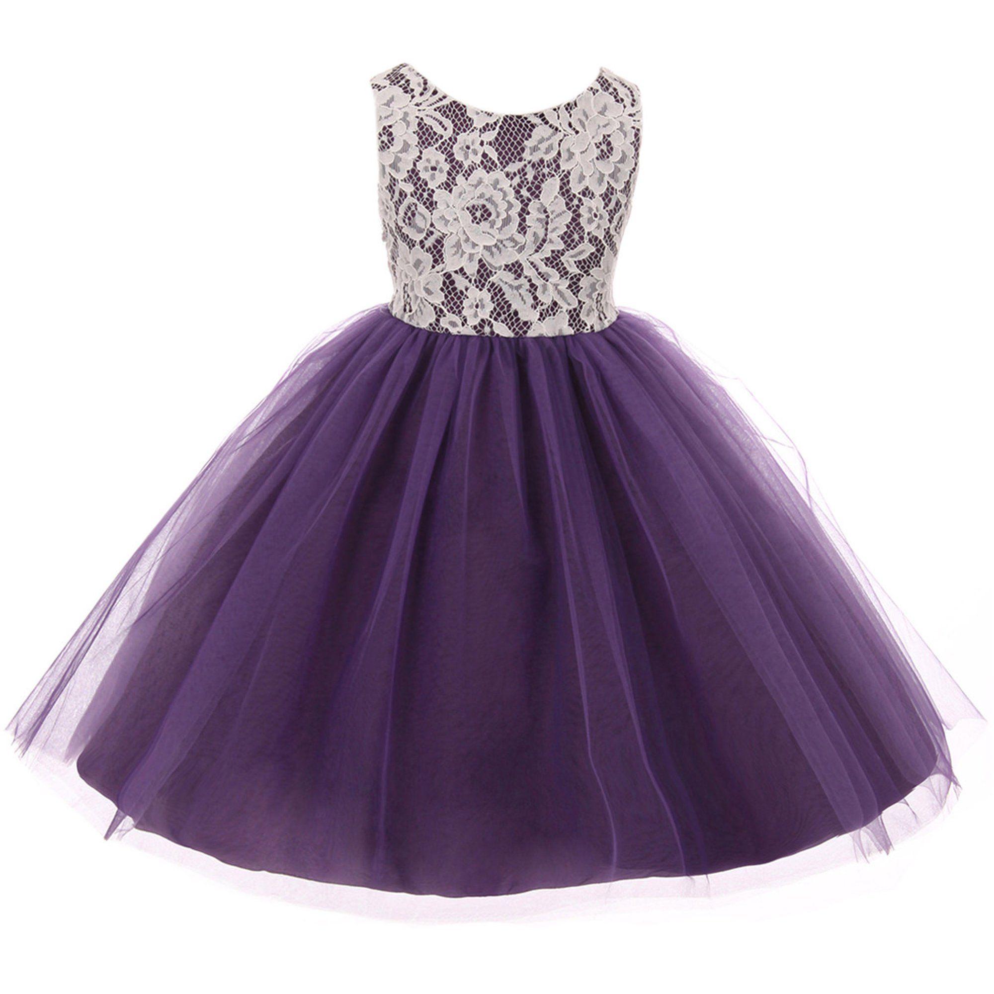 Bny Corner Little Girl Sleeveless Lace Bodice Illusion Tulle Easter Flower Girl Dres Flower Girl Dresses Tulle Purple Girls Dress Toddler Flower Girl Dresses [ 2000 x 2000 Pixel ]