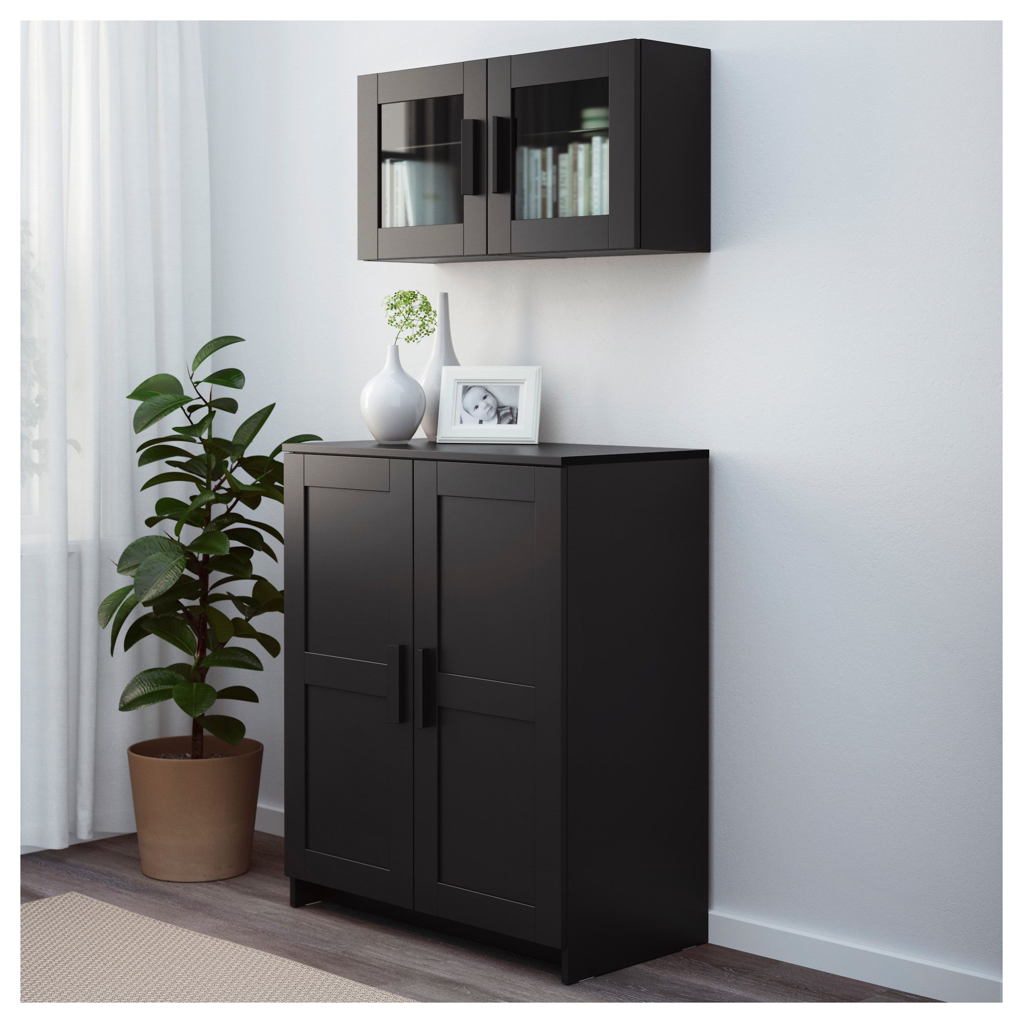 Best Ikea Brimnes Cabinet With Doors Black Cabinet Doors 640 x 480