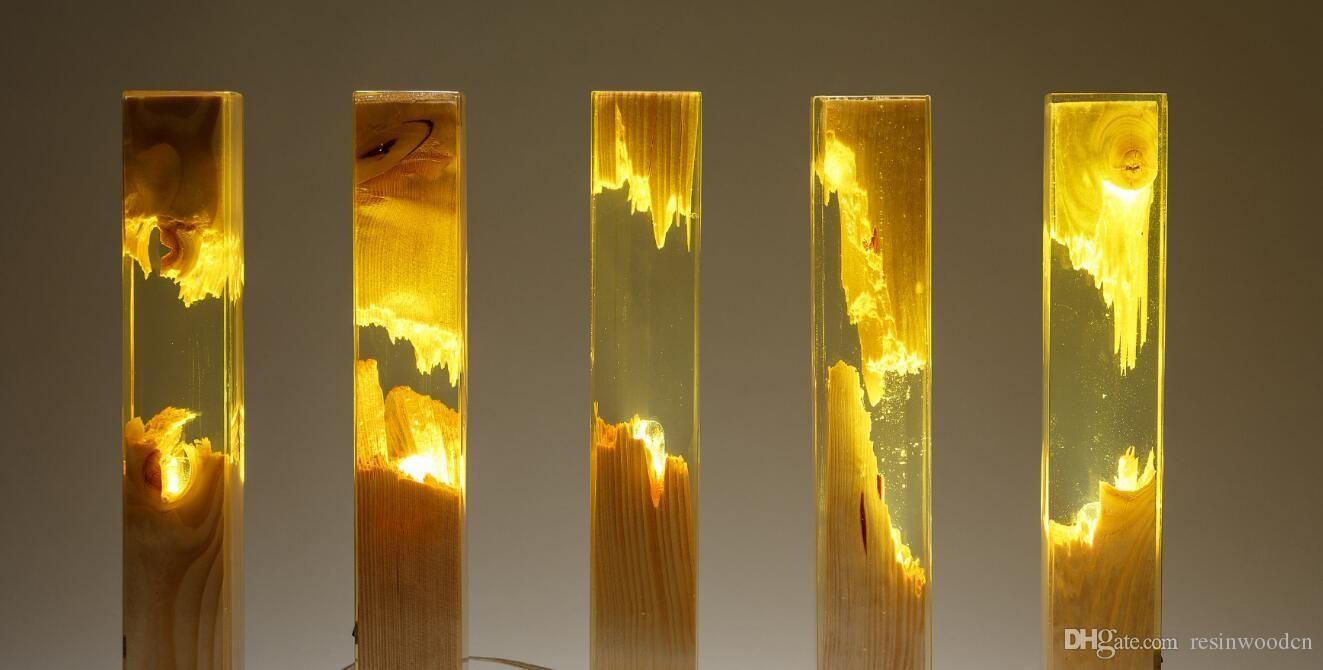 Meuble Avec Resine Epoxy lampe bois r�sine | lampe bois, r�sine epoxy transparente et