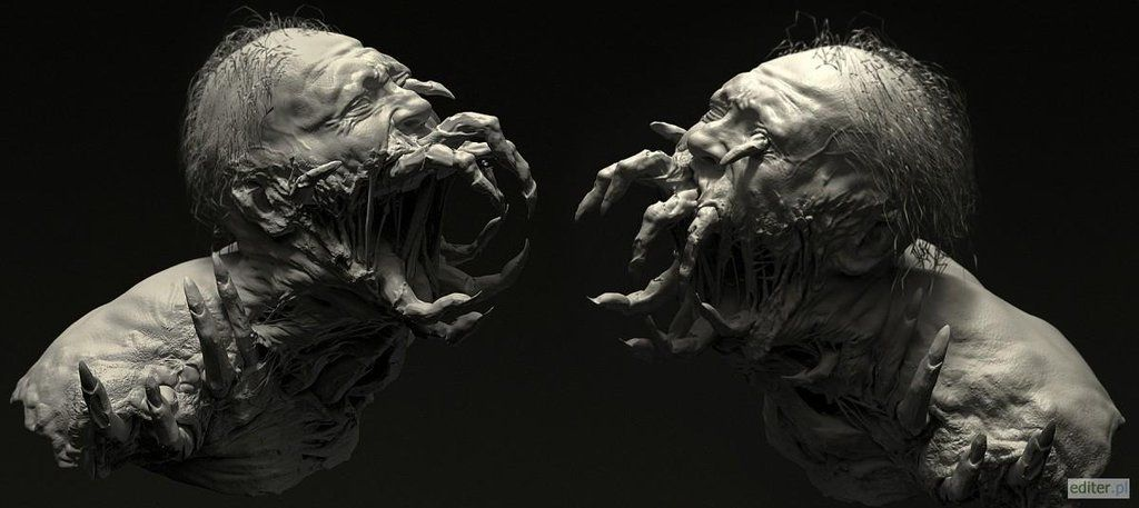 zbrush creepy - Google Search   Horror Creatures   Dead ... Dead Space 3 Monsters
