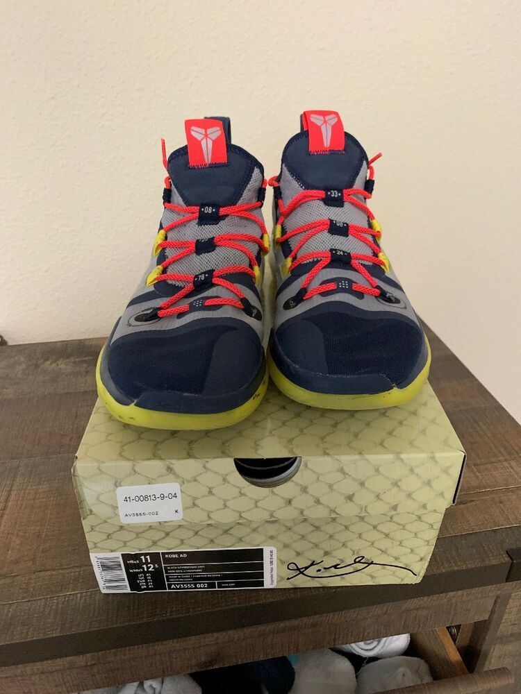 04a5e5a1b3ca Nike Kobe AD Exodus The Legacy Continues Size 11 Sail Multi Color AV3555 100   fashion  clothing  shoes  accessories  mensshoes  athle…