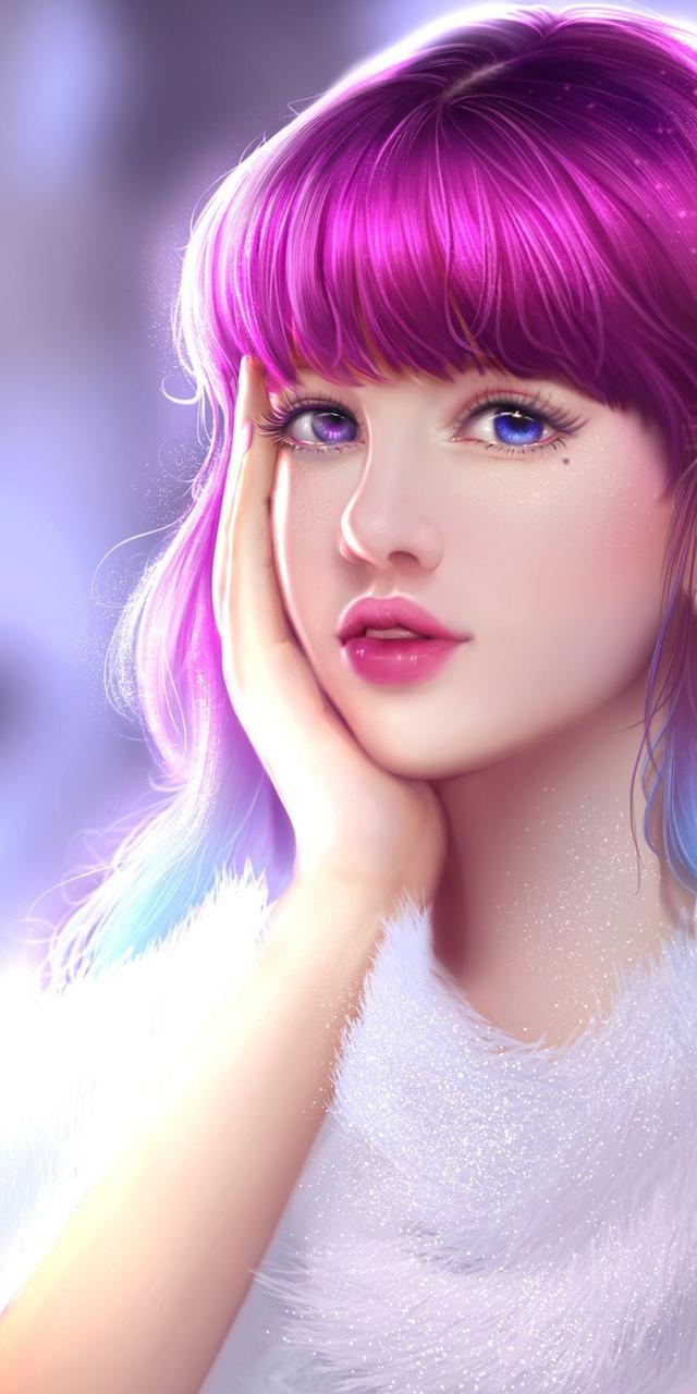 beautiful, beautiful girl, beauty, cartoon, colorful