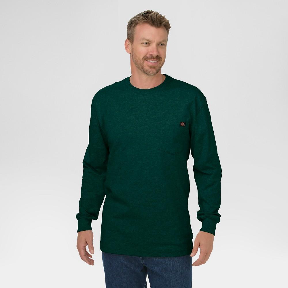 113bf82eec Dickies Men s Big   Tall Cotton Heavyweight Long Sleeve Pocket T-Shirt-