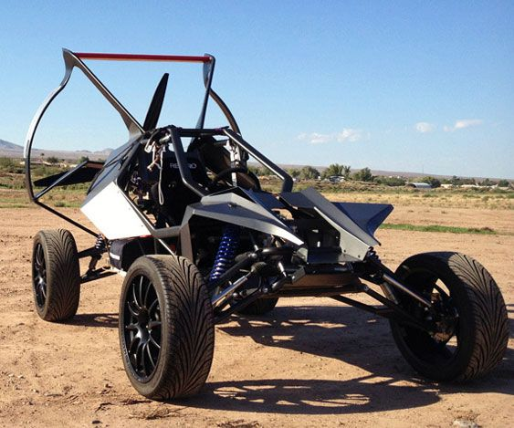 Whether it's a horde of zombies or a flood of biblical proportions, the flying dune buggy is the ultimate post apocalyptic getaway vehicle. It features a...