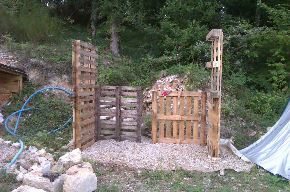 Structure de l'abri bois