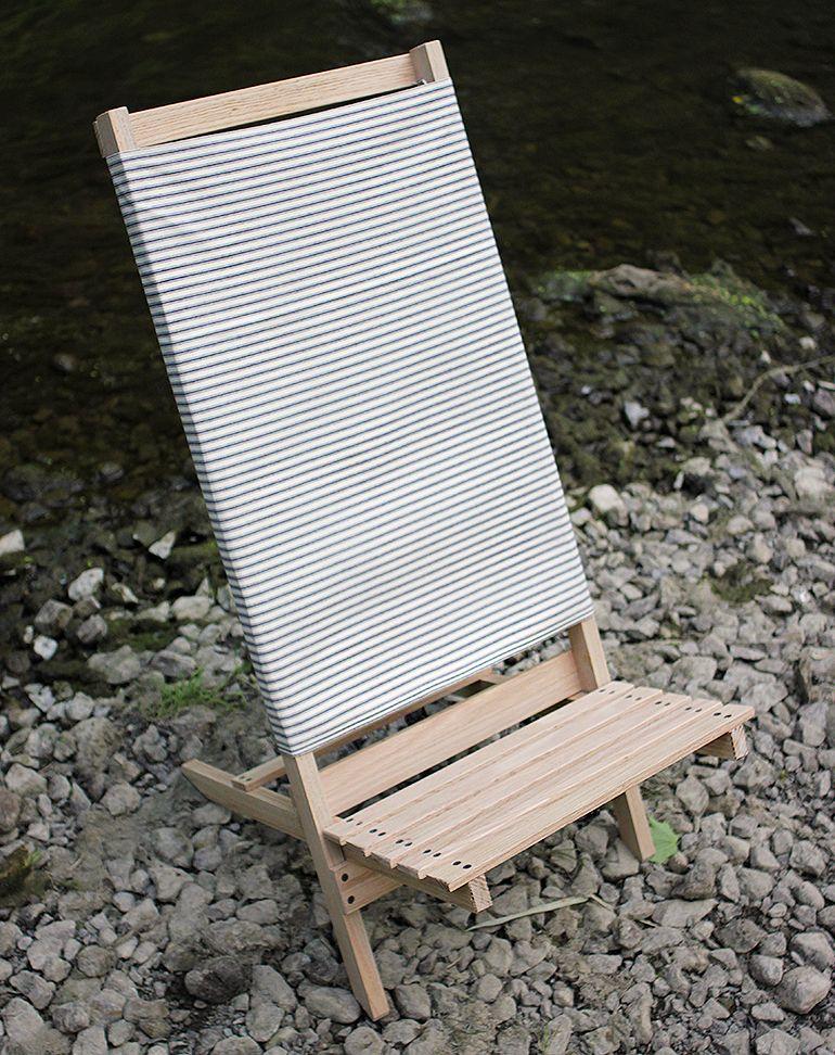 Bon DIY Wooden Camp/Beach Chair