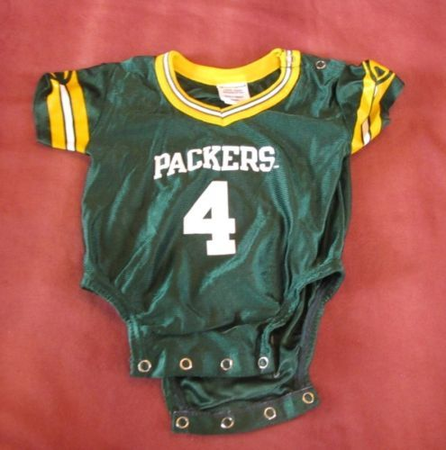 Brett Favre Green Bay Packers Baby Jersey One Piece 6 9 Months Champion Outfit
