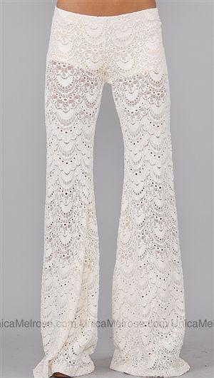 lacy night pantslove | Lace pants, Fashion, Style