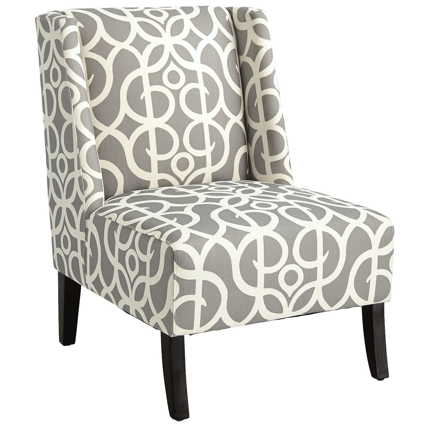 Owen Wing Chair   Metro Pewter | Pier 1 Imports