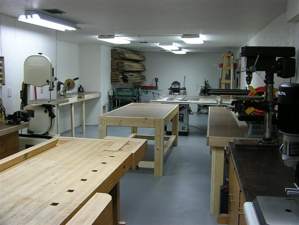 Eye Candy: 10 Drool-worthy Home Woodworking Shops | Garage workshop | Pinterest | Woodworking ...