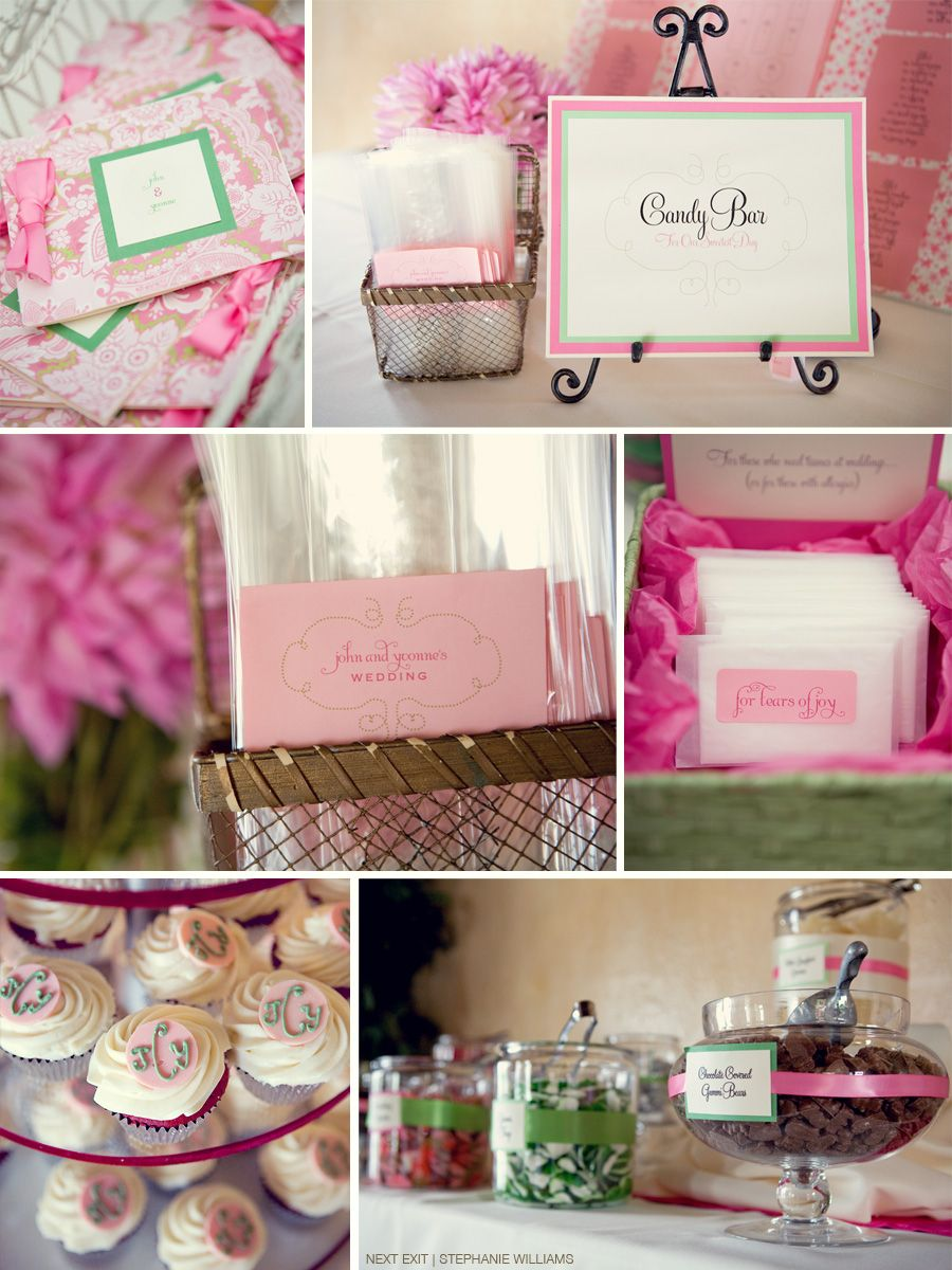 LOVE THIS!! Our colors are pink and like a dark green! <3 | A girl ...